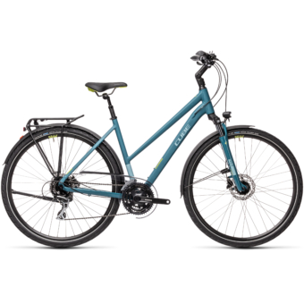 """CUBE TOURING ONE BLUE 'N' GREYBLUE 28"""" TRAPÉZ 2021"""
