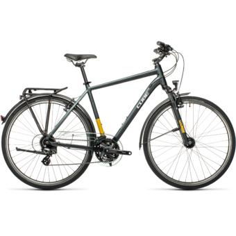 "CUBE TOURING GREY´N´YELLOW 28"" Férfi Trekking Kerékpár 2021"