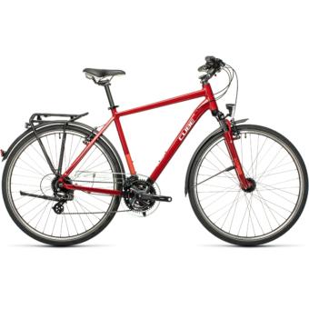 "CUBE TOURING DARKRED´N´GREY 28"" Férfi Trekking Kerékpár 2021"