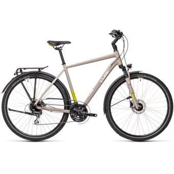 """CUBE TOURING PRO GREY´N´GREEN 28"""" 2021"""