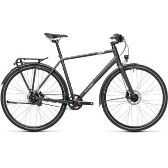 "CUBE TRAVEL EXC IRIDIUM´N´BLUE 28"" 2021"