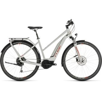 CUBE TOURING HYBRID 500 Trapeze Női Elektromos Trekking Kerékpár 2019 - Több Színben