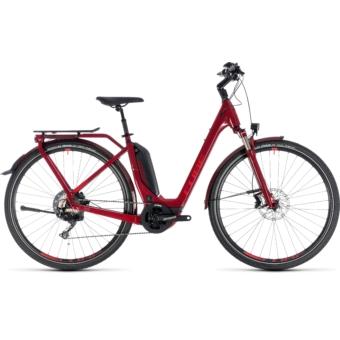 CUBE TOURING HYBRID EXC 500 Easy Entry Női Elektromos Trekking Kerékpár 2018