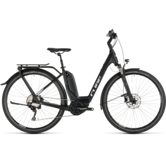 CUBE TOURING HYBRID Pro 500 Easy Entry Női Elektromos Trekking Kerékpár 2019 - Több Színben