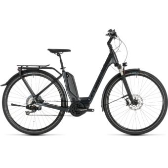 CUBE TOURING HYBRID SL 500 Easy Entry Női Elektromos Trekking Kerékpár 2019