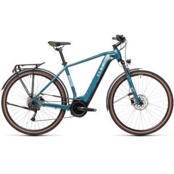 CUBE TOURING HYBRID ONE 625 blue´n´green Férfi Elektromos Trekking Kerékpár 2021