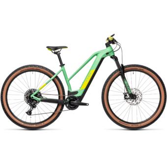 Cube Reaction Hybrid SL 625 29 TRAPÉZ mint´n´lime Női Elektromos MTB Kerékpár 2021