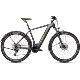 CUBE CROSS HYBRID PRO 500 ALLROAD iridium´n´green Férfi Elektromos Cross Trekking Kerékpár 2021