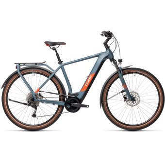 CUBE KATHMANDU HYBRID ONE 625 BLUE´N´RED Férfi Elektromos Trekking Kerékpár 2021