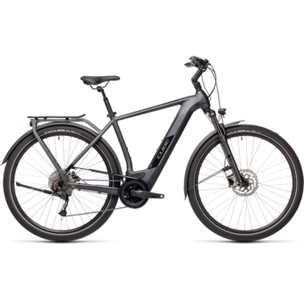CUBE KATHMANDU HYBRID ONE 500 IRIDIUM´N´BLACK Férfi Elektromos Trekking Kerékpár 2021