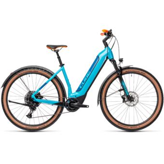CUBE NURIDE HYBRID EXC 625 ALLROAD petrol´n´blue Unisex Elektromos MTB Kerékpár 2021
