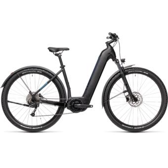 CUBE NURIDE HYBRID PERFORMANCE 500 ALLROAD black´n´novablue Unisex Elektromos MTB Kerékpár 2021
