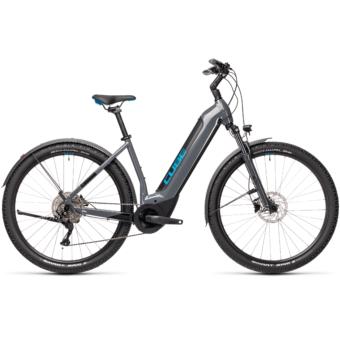 CUBE NURIDE HYBRID PRO 625 ALLROAD grey´n´blue Unisex Elektromos MTB Kerékpár 2021