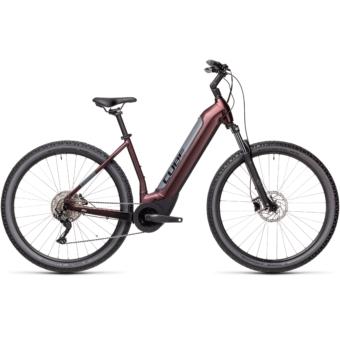 CUBE NURIDE HYBRID PRO 625 berry´n´grey Unisex Elektromos MTB Kerékpár 2021