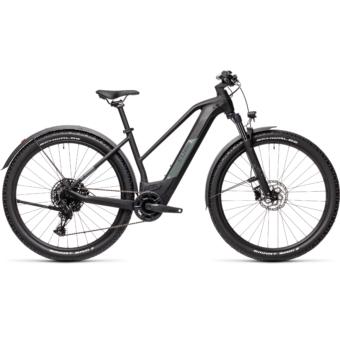 CUBE REACTION HYBRID PRO 625 TRAPÉZ ALLROAD black´n´grey Női Elektromos MTB Kerékpár 2021
