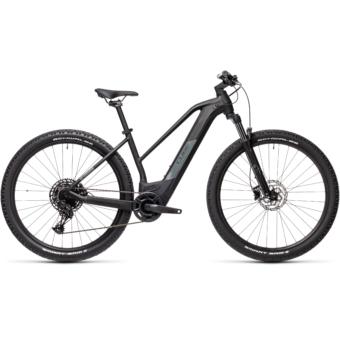 CUBE REACTION HYBRID PRO 500 TRAPÉZ black´n´grey Női Elektromos MTB Kerékpár 2021