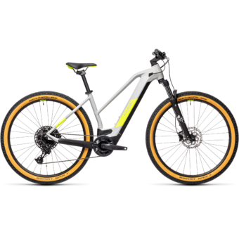 CUBE REACTION HYBRID PRO 625 TRAPÉZ grey´n´yellow Női Elektromos MTB Kerékpár 2021