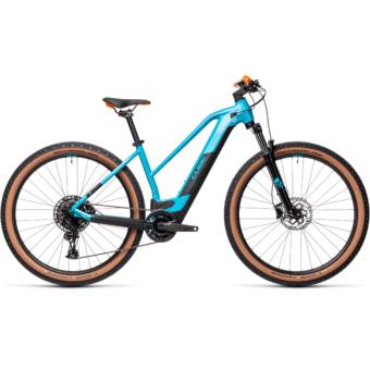 CUBE REACTION HYBRID PRO 625 TRAPÉZ petrol´n´orange Női Elektromos MTB Kerékpár 2021