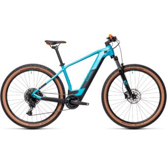CUBE REACTION HYBRID PRO 500 petrol´n´orange Férfi Elektromos MTB Kerékpár 2021