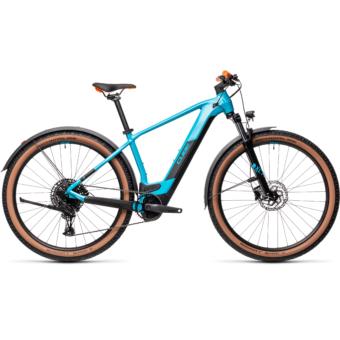 CUBE REACTION HYBRID PRO 500 ALLROAD petrol´n´orange Férfi Elektromos MTB Kerékpár 2021