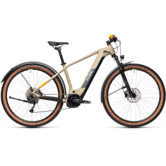 Cube Reaction Hybrid Performance 400 ALLROAD desert´n´orange Férfi Elektromos MTB Kerékpár 2021