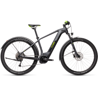 Cube Reaction Hybrid Performance 500 ALLROAD iridium´n´green Férfi Elektromos MTB Kerékpár 2021