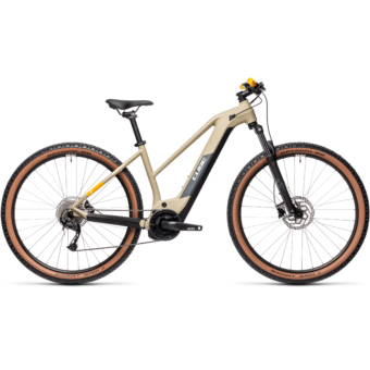 Cube Reaction Hybrid Performance 500 TRAPÉZ desert´n´orange Női Elektromos MTB Kerékpár 2021