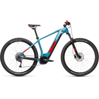Cube Reaction Hybrid Performance 500 blue´n´red Férfi Elektromos MTB Kerékpár 2021