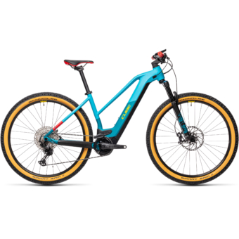 Cube Reaction Hybrid SLT 625 29 TRAPÉZ petrol´n´peach Női Elektromos MTB Kerékpár 2021