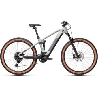 Cube Stereo Hybrid 120 PRO 500 lunar´n´grey Férfi Elektromos Összteleszkópos MTB Kerékpár 2021
