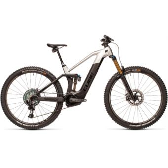 Cube Stereo Hybrid 140 HPC SLT 625 KIOX carbon´n´prizmsilver Férfi Elektromos Összteleszkópos MTB Kerékpár 2021