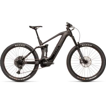 Cube Stereo Hybrid 160 HPC RACE 625 27,5 carbon´n´black Férfi Elektromos Összteleszkópos MTB Kerékpár 2021