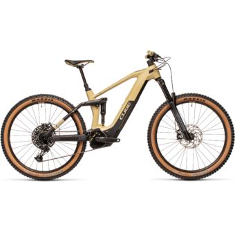 Cube Stereo Hybrid 160 HPC RACE 625 27,5 desert´n´black Férfi Elektromos Összteleszkópos MTB Kerékpár 2021