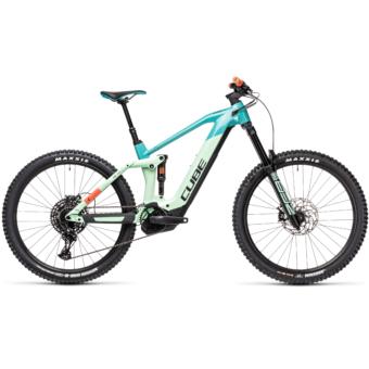 Cube Stereo Hybrid 160 HPC SL 625 27,5 pacific´n´red Férfi Elektromos Összteleszkópos MTB Kerékpár 2021