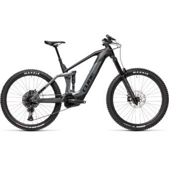 Cube Stereo Hybrid 160 HPC SL 625 27,5 grey´n´black Férfi Elektromos Összteleszkópos MTB Kerékpár 2021