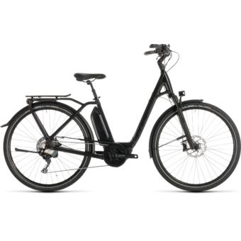 CUBE TOWN SPORT HYBRID SL 500 Easy Entry Női Elektromos Városi Kerékpár 2019