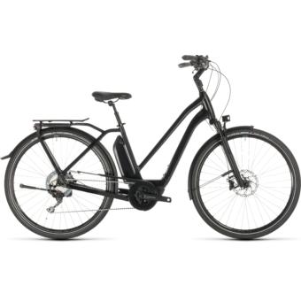 CUBE TOWN SPORT HYBRID SL 500 Trapeze Női Elektromos Városi Kerékpár 2019