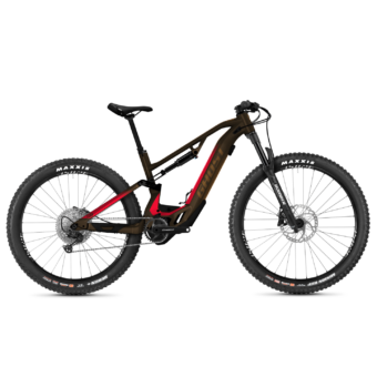 GHOST HYBRIDE ASX Essential 130 Férfi Elektromos Összteleszkópos MTB Kerékpár 2021