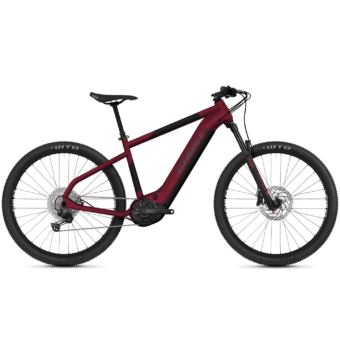 GHOST E-Teru Advanced 29 Dark Cherry / Midnight Black / Gray Férfi Elektromos MTB Kerékpár 2021