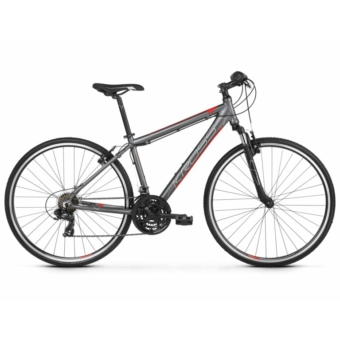 KROSS EVADO 1.0 M graphite / red 2021