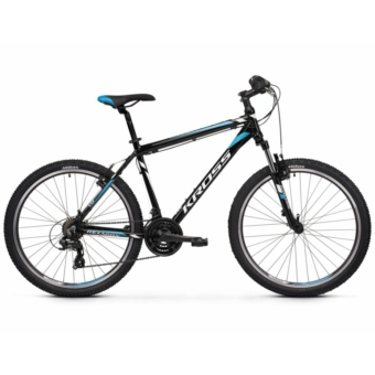 "KROSS Hexagon 1.0 26"" black / white / blue 2021"