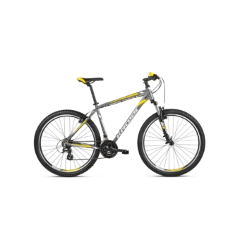 "KROSS Hexagon 2.0 26"" graphite / silver / yellow 2021"