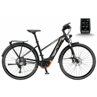 KTM MACINA SPORT XT 11 CX5 Női Trapéz Elektromos Trekking Kerékpár 2019