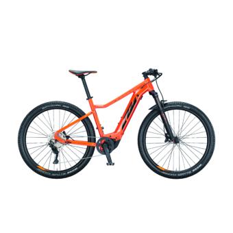 Ktm Macina Race 291 fire orange (black+orange) Férfi Elektromos MTB Kerékpár 2021