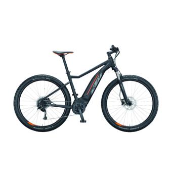 Ktm Macina Ride 291 black matt (grey+orange) Férfi Elektromos MTB Kerékpár 2021