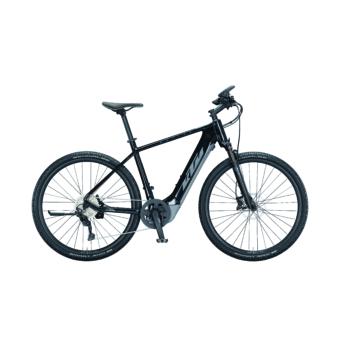 Ktm Macina Cross 620 metallic black (grey+blue) Férfi Elektromos Cross Trekking Kerékpár 2021