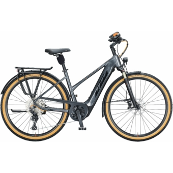 KTM MACINA STYLE 620 EASY ENTRY steel grey (black+orange) Unisex Elektromos Trekking Kerékpár 2021