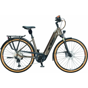 Ktm Macina Style 610 NYON EASY ENTRY oak (black+orange) Unisex Elektromos Trekking Kerékpár 2021