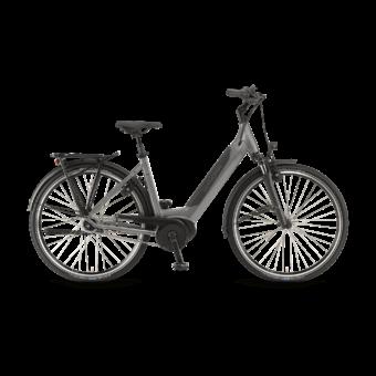 "Winora Sinus iN8f i500 28"" EASY ENTRY Moongrey Unisex Elektromos Városi Kerékpár 2021"