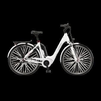 """Winora Tria N7f 400 28"""" White EASY ENTRY Unisex Elektromos Városi Kerékpár 2021"""